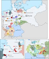Unification Of Germany Map by Organization Of The German Empire In Europe 1871 1918 1042x1260