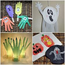 Halloween Craft Kids - spider nest lanterns cute halloween craft for kids