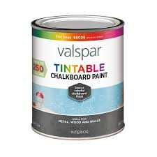 shop valspar tintable latex chalkboard paint actual net contents