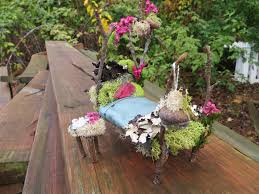 Mini Fairy Garden Ideas by Making A Miniature Fairy Garden Bed Craft Diy Tutorial Youtube