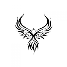tribal phoenix tattoo design tatoos pinterest tribal phoenix