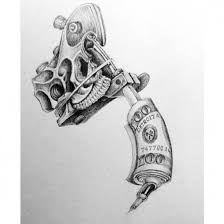 Machine Tattoo Ideas Cool Tattoo Guns Drawings Trmfp Tattoo And Piercing Tattoo