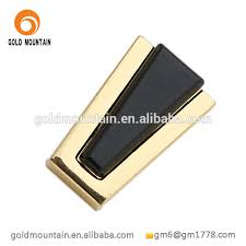 fashion gold color metal zinc alloy ladies shoes buckles with