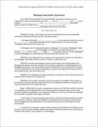 agreement template mortgage agreement sample philippinesmortgage