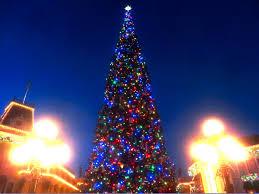 Christmas Tree Lighting Disneyland Christmas Tree Lighting November 13 2015 Youtube