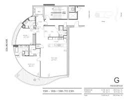 32 Sq M To Sq Ft Chateau Beach Residences Sunny Isles Condo Miami 17475 Collins