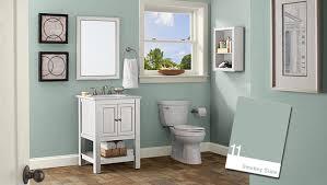 reinvent your bathroom with new bathroom color ideas aristonoil