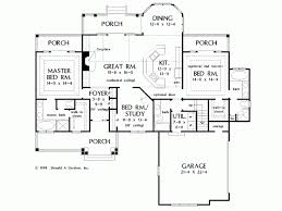 quad level house plans eplans bungalow house plan rafter tails and a pillared porch