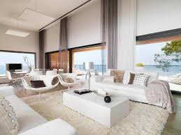 All White Living Room Set Living Room Luxury Modern Room Interior Design Ceiling Light