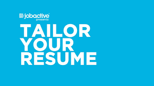 Tailor Resume To Job by Help Me Find A Job Tailor Your Resume Youtube