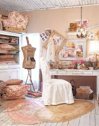 Pink Craft Room - creating a craft room