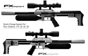 an air gun with ar style the fx impact prep blog com air guns