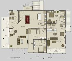 floor plans free online architecture office apartments cozy clubhouse main floor plan