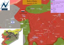 Syria Fighting Map by Day Of News On The Map September 10 2016 Map Of Syrian Civil