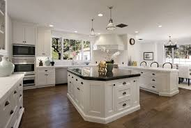 Marble Kitchen Countertops Kitchen Stunning Classic Black And White Kitchen Ideas With