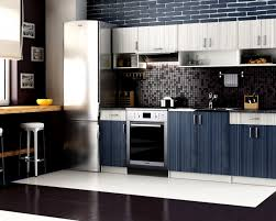 kitchen design your own kitchen using grey and blue strip