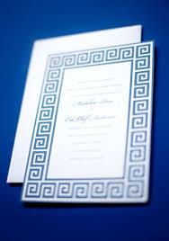 greek wedding invitations wedding pinterest greek key greek