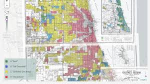 Riot Fest Map Chicago by New Redlining Maps Show Chicago Housing Discrimination Wbez