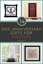 2nd wedding anniversary gifts for 14 great 2nd wedding anniversary gift ideas for couples giftss