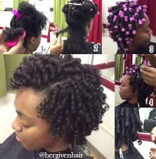 curling rods for short natural hair perm rod on natural hair hergivenhair