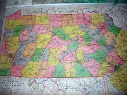World Map 1940 by 1940 U0027s Pennsylvania Maps