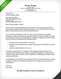 resume through email sample call center cover letter example