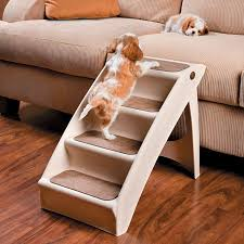 Elevated Dog Bed With Stairs Pupstep Plus Dog Steps Pet Stairs Dog Ramp Puppy Stairs