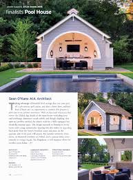 build pool house l u0026l builders project featured in at home magazine a list pool