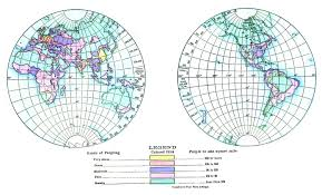 What Is A Map Projection Isolines Geography For Kids