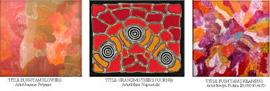 a reflection on the human history awaking and rising aboriginal art