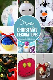 Easy Homemade Christmas Ornaments by The 25 Best Disney Christmas Decorations Ideas On Pinterest
