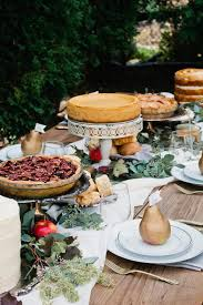 an thanksgiving table dessert buffet the sweetest occasion