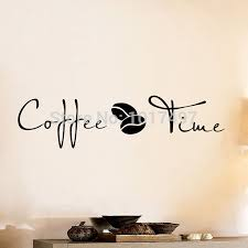 aliexpress com buy coffee wall art decal sticker vinyl coffee aliexpress com buy coffee wall art decal sticker vinyl coffee wall stickers for coffee shop or office decor free shipping f2072 from reliable stickers