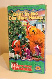 jim henson u0027s bear in the big blue house a berry bear christmas