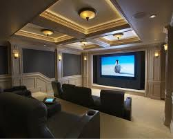 Best  Home Theater Rooms Ideas On Pinterest Home Theatre - Living room with home theater design