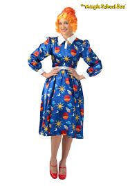 Conductor Halloween Costumes Magic Bus Frizzle Costume