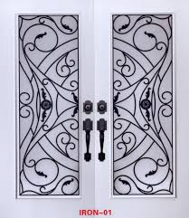 lead glass door inserts stained glass door inserts and wrought iron door inserts