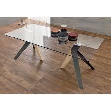 table en verre cuisine l élégance de la transparence avec nos tables en verre le chaisier