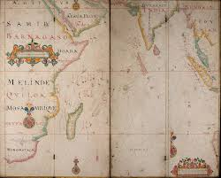 Indian Ocean Map From The Thames To The Indian Ocean Bodleian Map Room Blog