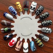 star wars nails nail art pinterest star wars nails salons