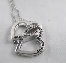and granddaughter necklace granddaughter never forget that i you necklace deserves