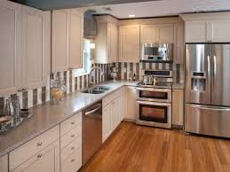 image result for mixed white and stainless steel appliances in