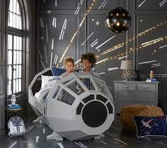 pottery barn millennium falcon cockpit bed the priciest hunk of