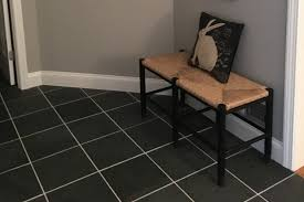 Slate Laminate Flooring Cabot Slate Tile Montauk Black Natural Cleft 12