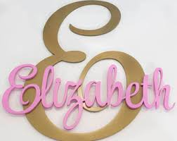 Baby Name Decor For Nursery Baby Name Decor Etsy