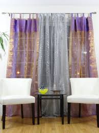 french window curtains drapes or valences ethnic home decor idea