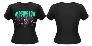 all time low t shirt signing at hmv 363 oxford street london