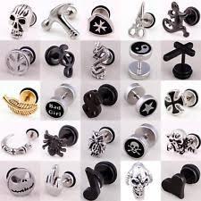 back earrings for men mens earrings ebay