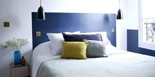 fabriquer chambre fabriquer tete de lit chambre avec tate de lit couleur bleue yqc