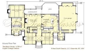 Manor House Floor Plan New South Classics The Manor House